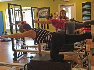 the center equipment lessons on stott reformer in marietta and east cobb