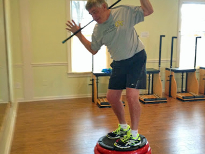 the center offers golf fitness