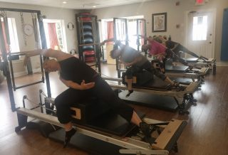 the center in east cobb teaches beginner stott pilates reformer and equipment classes