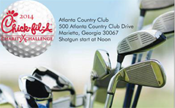 the center Sponsoring the Chick-Fil-A Charity Golf Tournament